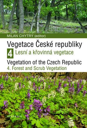 obálka knihy Vegetace ČR