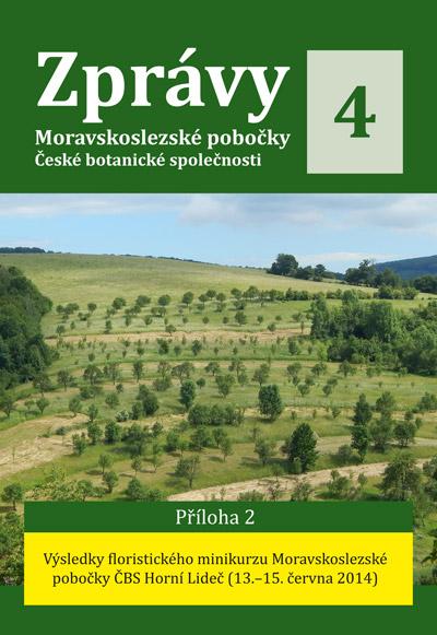 Zprávy Moravskoslezské pobočky ČBS 4, Příloha 2